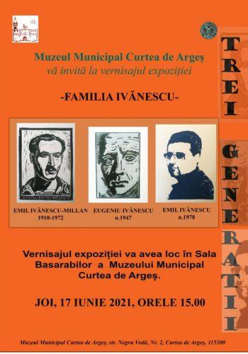 """Expozitia """"Familia Ivanescu"""""""
